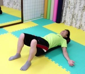 ストレッチポール,予備運動,姿勢改善