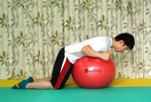 肩甲骨,寄せる,運動,パーソナル