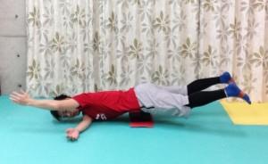 骨盤,安定,軸,ランニング,体幹