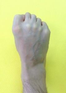 足の指,グーパー運動