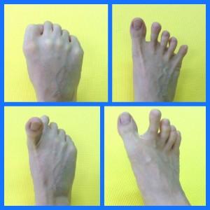 足の指,エクササイズ,グーチョキパー