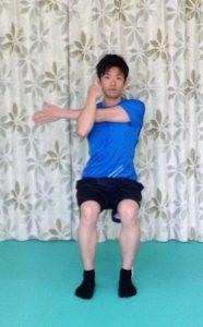 肩の筋肉,伸ばす,やり方
