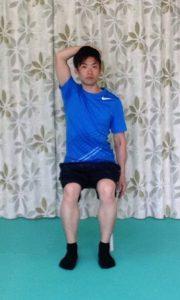 頚の側屈1