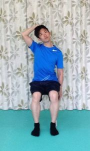 頚の側屈2
