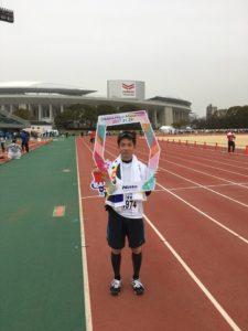 大阪ハーフマラソン,ランニング,体幹